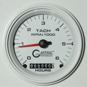 Boat's engine hour meter